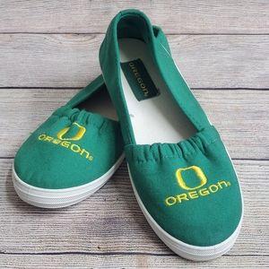 Shoes - University of Oregon Ducks Canvas Shoes